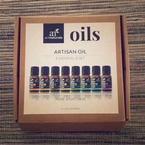 Artisan Oil 8 set never been used